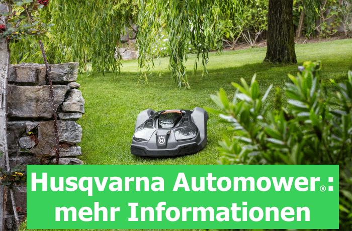 Bei Döring Geräte- und Fahrzeugtechnik in 04758 Olganitz erhalten Sie die Produktpalette der Husqvarna Automower, der selbstmähende, vollautomatische Rasenmäher für Ihren Garten.