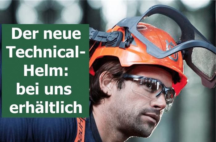 Der neue Technical Helm von Husqvarna. Trageleicht und komfortabel - bei Döring Geräte- und Fahrzeugtechnik in 04758 Olganitz erhältlich.